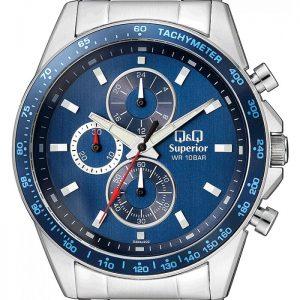 Мъжки часовник Q&Q Superior S394J202Y , хронограф
