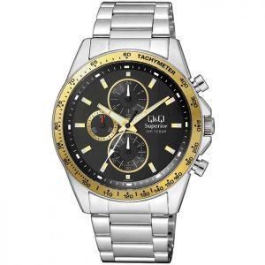 Мъжки часовник Q&Q Superior S394J222Y хронограф
