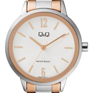 Дамски аналогов часовник Q&Q - QB97J411Y