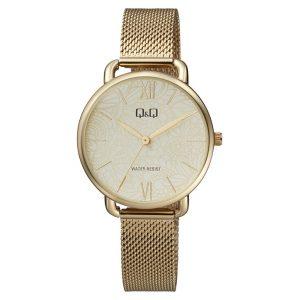 Дамски аналогов часовник Q&Q - QC27J001Y