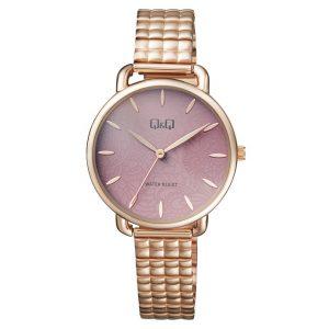Дамски аналогов часовник Q&Q - QC27J002Y