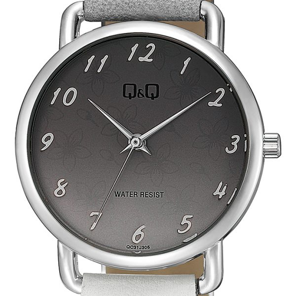 Дамски аналогов часовник Q&Q - QC31J305Y сив