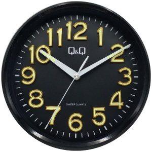 Стенен часовник Q&Q 0310H504Y , черен
