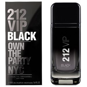 Carolina Herrera 212 VIP Black EDP 2017 парфюм за мъже