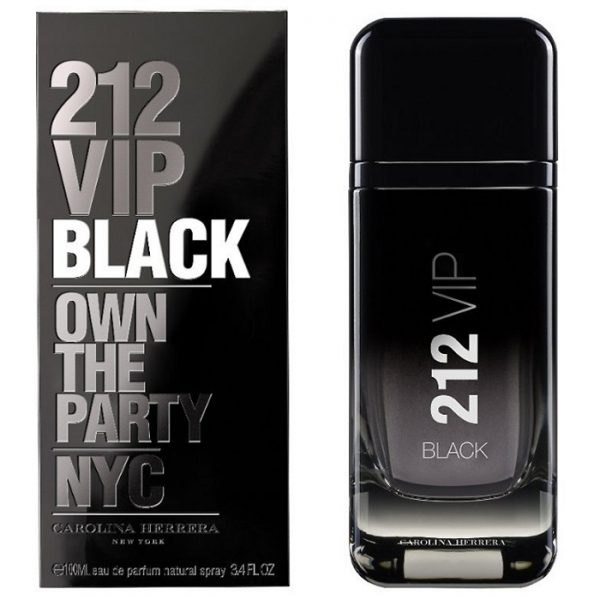 Carolina Herrera 212 VIP Black EDP 2017 парфюм за мъже