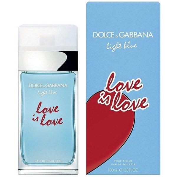 D&G Light Blue Love Is Love EDT 2020 парфюм за жени