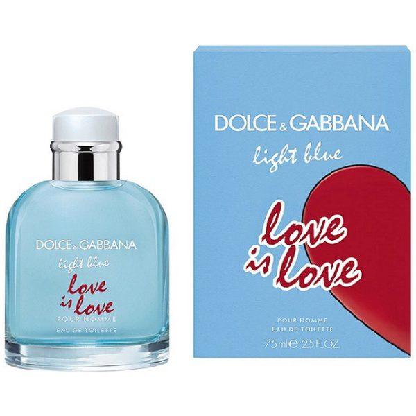Dolce&Gabbana Light Blue Love Is Love EDT 2020 парфюм за мъже