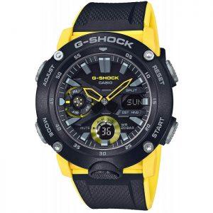 Мъжки часовник CASIO G-SHOCK Carbon Core Guard - GA-2000-1A9ER