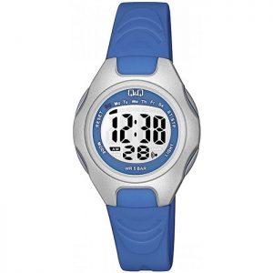 Детски дигитален часовник Q&Q - M195J002Y , син