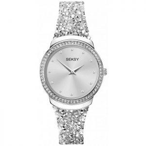 Дамски часовник Seksy Rocks Swarovski Crystals - S-40039.37