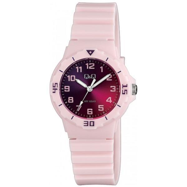 Детски аналогов часовник Q&Q - VR19J021Y, розов