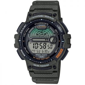 Мъжки часовник Casio Fishing Gear - WS-1200H-3AVEF