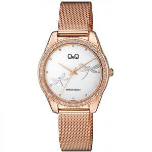 Дамски аналогов часовник Q&Q - QZ59J051Y