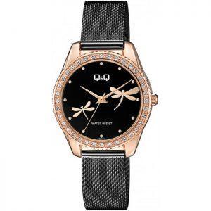 Дамски аналогов часовник Q&Q - QZ59J442Y