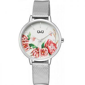Дамски аналогов часовник Q&Q - QZ67J211Y