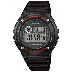 Мъжки дигитален часовник Casio - W-216H-1AVDF