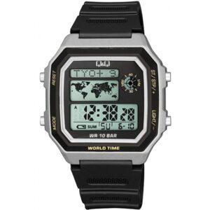 Мъжки дигитален часовник Q&Q World Time - M196J003Y