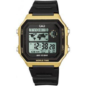 Мъжки дигитален часовник Q&Q World Time - M196J004Y