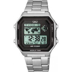 Мъжки дигитален часовник Q&Q World Time - M196J006Y