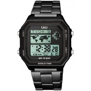 Мъжки дигитален часовник Q&Q World Time - M196J008Y