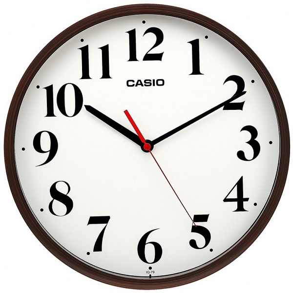 Стенен часовник Casio - IQ-79-5DF