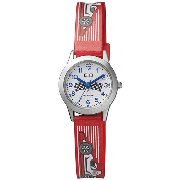 Детски аналогов часовник Q&Q - QC29J334Y